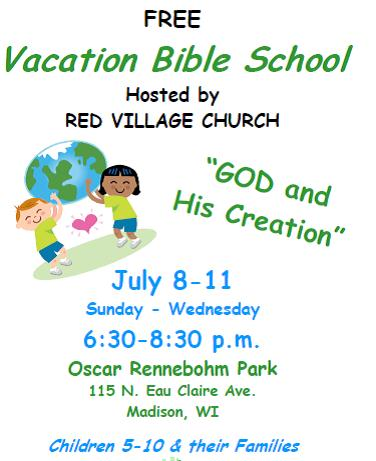 Vacation Bible School | Red Village Church
